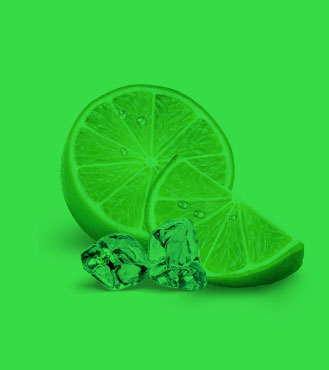 Caipirinha colored