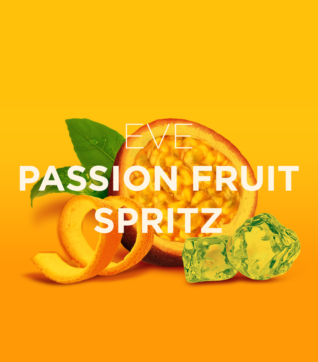 Passionfruit colored